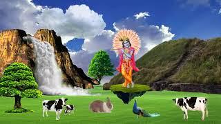 Shaam Savere dekhu tujhko kitna sundar roop h .. Animated devotional ringtone video.