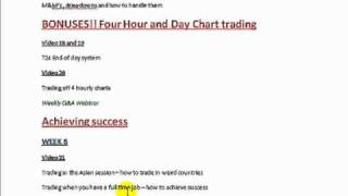 Forex 360 Video course and Live trading!4part2
