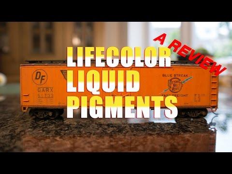 Lifecolor Liquid Pigments - a review