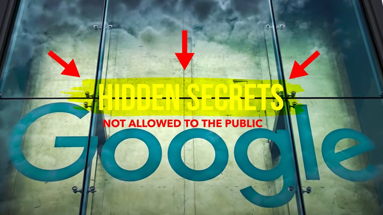 Google's MOST HIDDEN SECRETS | [not allowed to the public!]