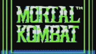 Video Game Vault - Mortal Kombat (GameBoy)   Classic ScrewAttack Video