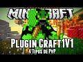 Plugin Craft1V1 - 4 Tipos de PvP Minecraft
