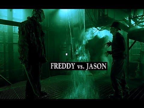 Фредди против Джейсона 2003 Фильм. Все Сражения