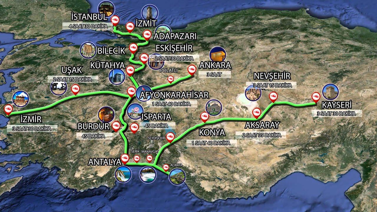 afyonkarahisar antalya yht demiryolu projesi ile ilgili görsel sonucu