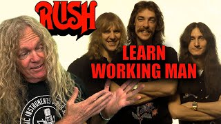 Free Guitar Lessons - Working Man, Rush Main Riff