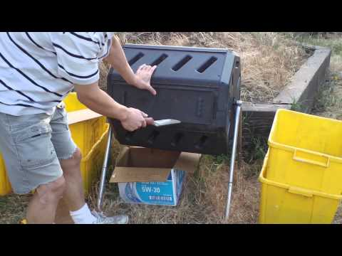 How to Use Dual Tumbler Composter?