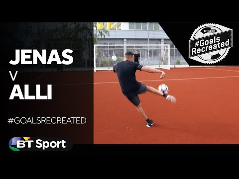 Jermaine Jenas tries to recreate Dele Alli  39 s stunner New Flash Game