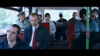 Shaun of the Dead bus scene