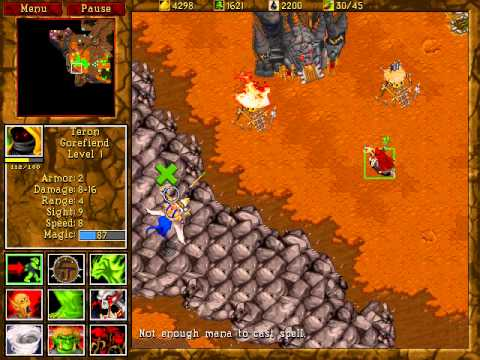 Warcraft 2 Campaign Beyond the Dark Portal Orc Mission 12 - YouTube