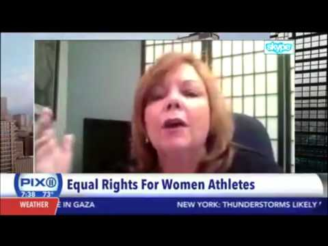 Kate Delaney Sports Expert Interviewed on WPIX in New York City