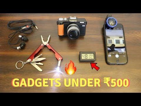 Unique Gadgets Under Rs500 | Part 11 | Tech Unboxing 🔥