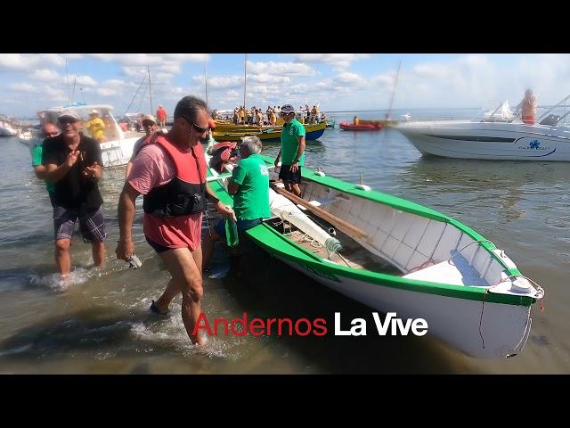 ANDERNOS - Concours  des Interviews des Pinasseyres  - Bassin d'Arcachon - EP 8 Pinasses à voile