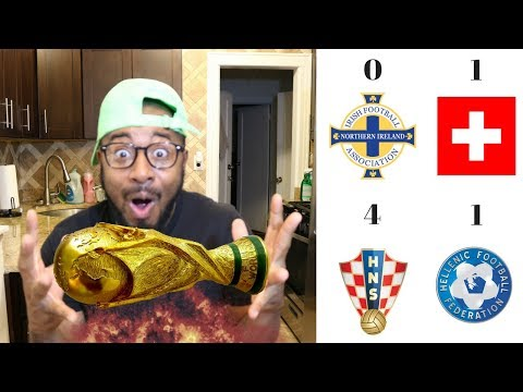 CROATIA VS GREECE 4-1 | NORTHEN IRELAND VS SWITZERLAND 0-1 POST MATCH REACTION