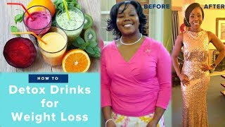 5 Detox Drinks to Lose Belly Fat & Lose Weight | FAST at Home Remedies That WORK