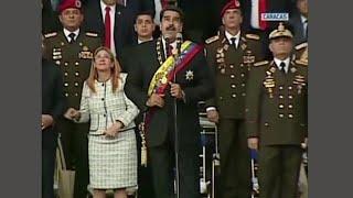President Venezuela schrikt van vermeende aanslag  - RTL NIEUWS