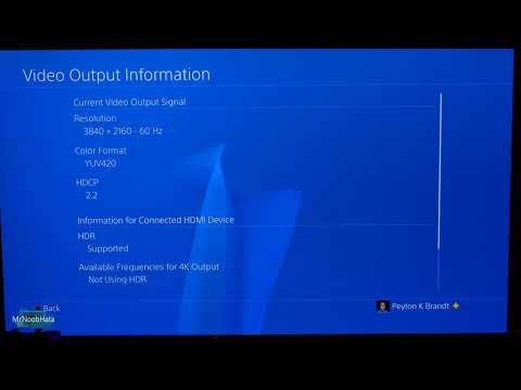 How to Enable 4K HDR on a PS4 Pro