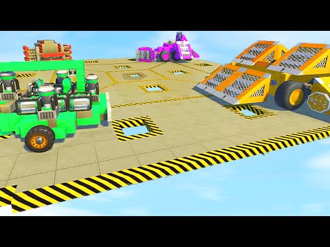 ROOFTOP CAR SUMO BATTLE! (Scrap Mechanic)