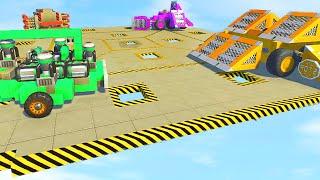 ROOFTOP CAR SUMO BATTLE! (Scrap Mechanic)