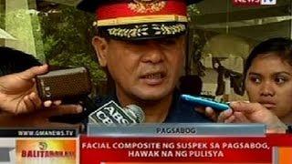BT: Facial composite ng suspek sa pagsabog, hawak na ng pulisya