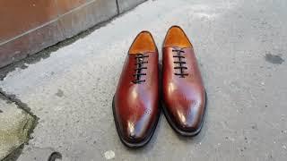 Video: Oxford shoe Berwick 3582 burgundy leather