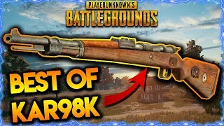 PUBG BEST KAR98K MOMENTS | BEST PUBG WEAPONS | PUBG BEST SNIPER MOMENTS