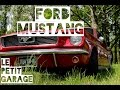 Trailer Ford Mustang 200ci