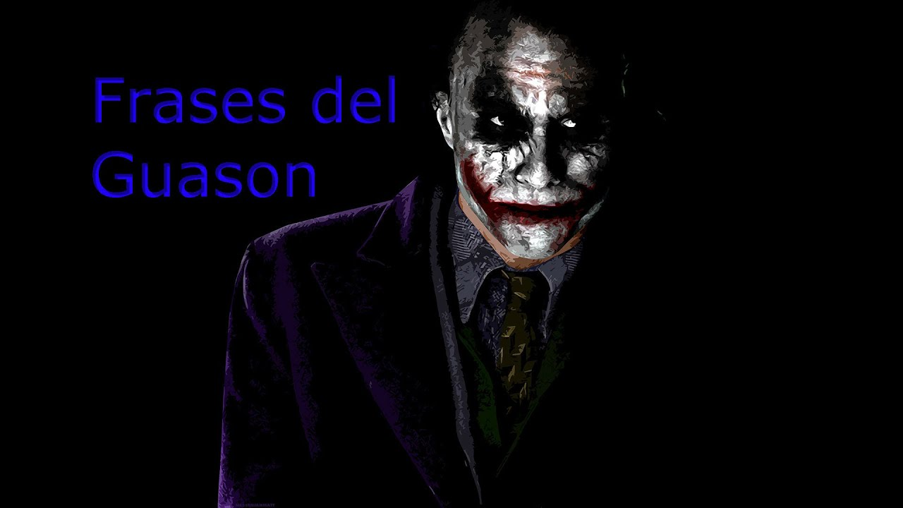 frases del joker de reflexi n y verdad youtube. Black Bedroom Furniture Sets. Home Design Ideas
