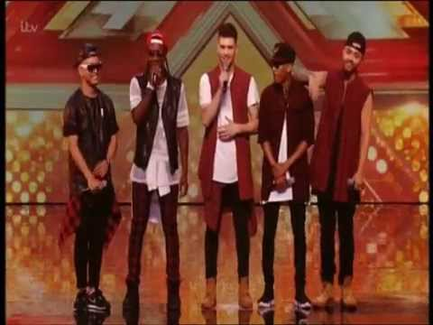THE X FACTOR 2015 AUDITIONS - THE FIRST KINGS - UPTOWN FUNK