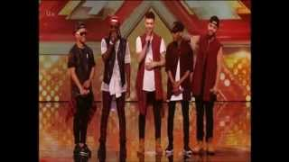 The X Factor 2015 Auditions The First Kings Uptown Funk