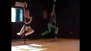 Pole Beginner Routine - Kiss (Choreography Recording)