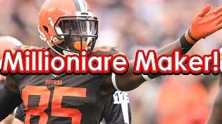 DraftKings Picks Week 7 NFL Millionaire Maker Lineup