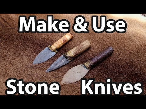 How To Make And Use A Stone Knife