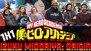 My Hero Academia - 1x1 Izuku Midoriya: Origin - Group Reaction