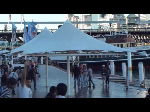 India Making a Movie on Darling Harbor