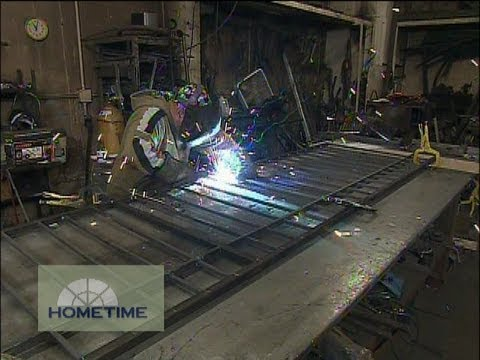 How a Custom Wrought Iron Railing Is Fabricated