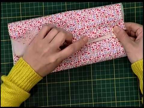 Porta cosmeticos de tela youtube - Como hacer un cabecero de tela ...