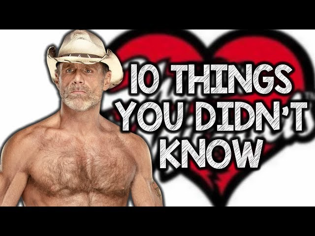 10 Things You Didnt Know About Shawn Michaels