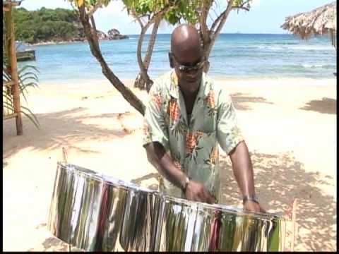 Donald Herbert Steel Pan at Bolongo Bay Beach Resort