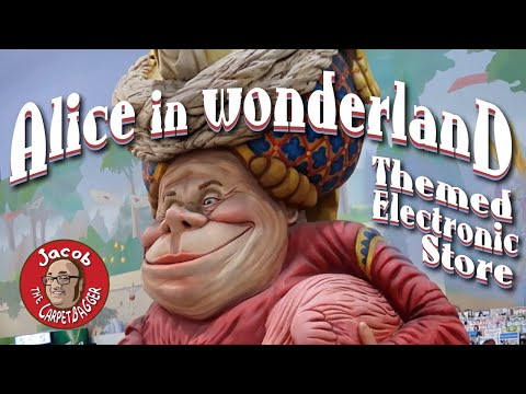 Alice and Wonderland Themed Electronic Store - Fry's