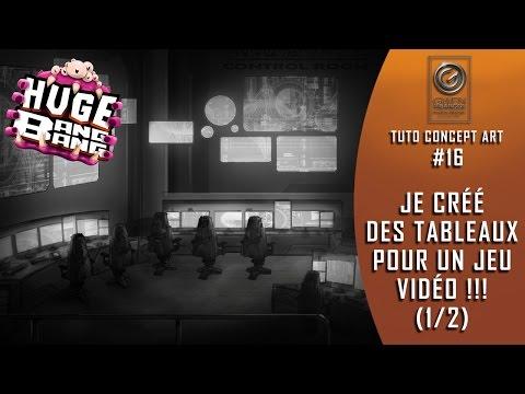 JE CRÉE DES DÉCORS POUR UN JEU VIDÉO !!! (1/2) Le Poste de Commande [Level Design].