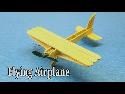how to make flying helicopter at home