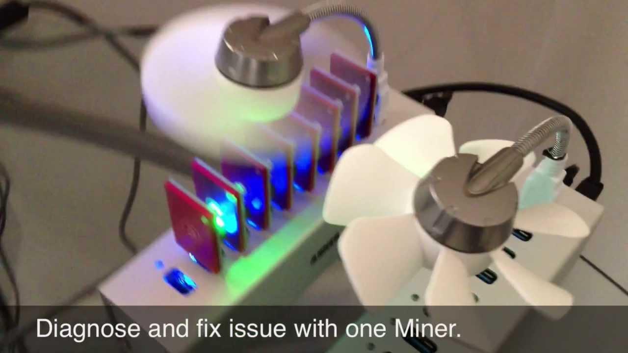 ASICMiner USB Block Erupter Unboxing