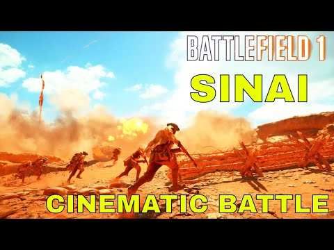 Battlefield 1- Sinai Desert Epic Cinematic Battle
