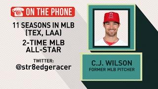 Gottlieb: C.J. Wilson talks racing career and MLB extra innings rule