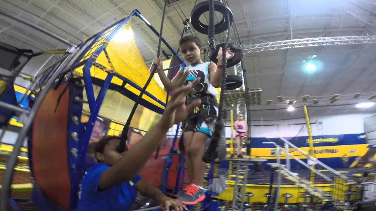 Fun Family Day at Planet Air Sports - YouTube