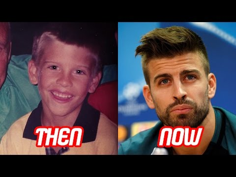 Gerard Piqué Transformation Then And Now (Face & Hair Style) | 2017 NEW