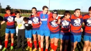 Victoire des cadets - 5 déc 2015