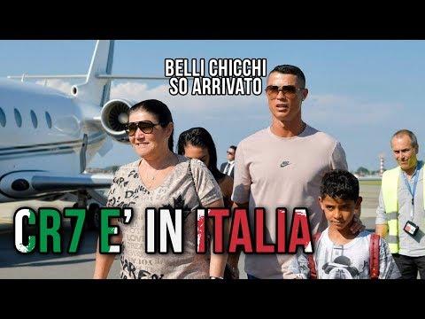 RONALDO arriva in ITALIA | LE VISITE MEDICHE |