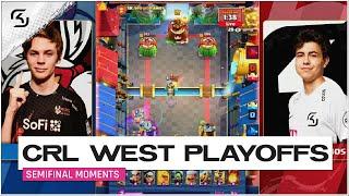 CRL West 2020 Playoffs Semifinals | SK Gaming vs Misfits | Momen