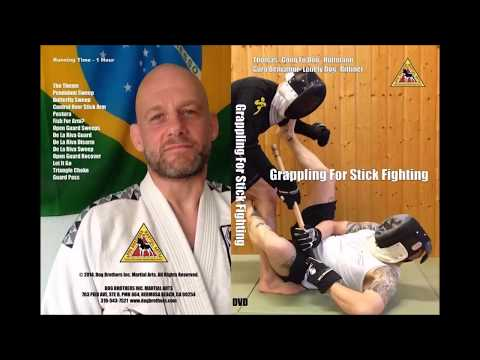 Two examples of BJJ principles applied in Real Contact Stickfighting
